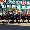 The start of the Parx Dirt Mile (Listed) at Parx on September 21, 2019. Photo By: Chad B. Harmon