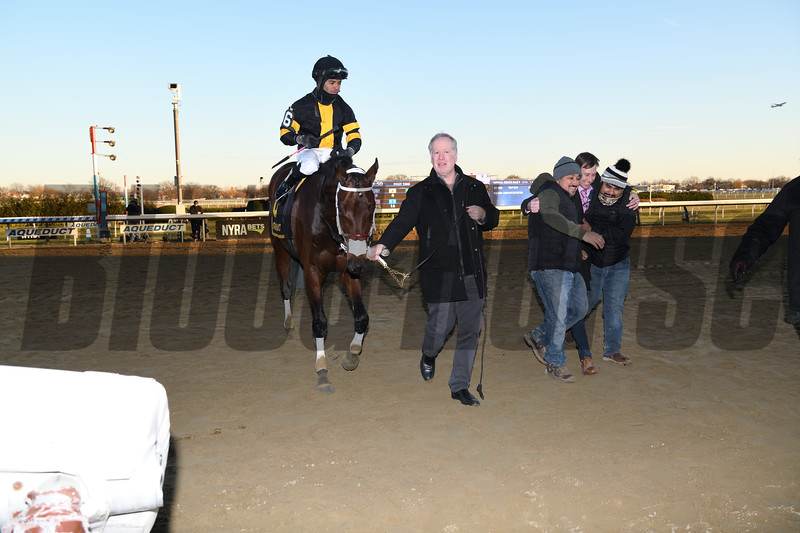 Shotski wins the 2019 Remsen Stakes at Aqueduct<br /> Coglianese Photos
