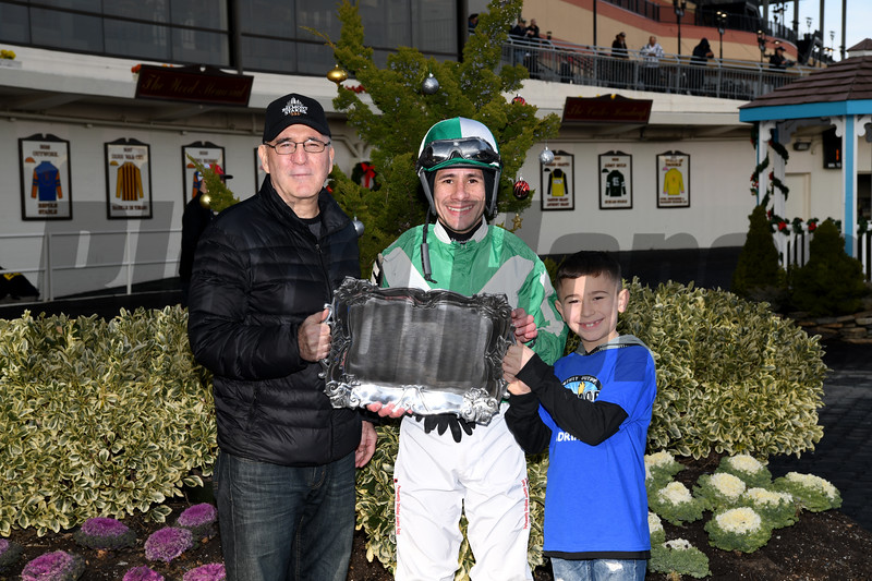 Mr. Buff wins the 2019 Alex M. Robb Stakes at Aqueduct<br /> Coglianese Photos