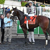 Tiz the Law wins the Champagne Stakes at Belmont Park<br /> Coglianese Photos