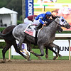 Essential Quality wins the 2021 Travers Stakes at Saratoga<br /> Coglianese Photos/Chris Rahayel