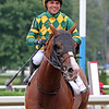 Gufo with Joel Rosario aftering winning the 47th Running of The Sword Dancer (GI) at Saratoga on August 28, 2021. Photo By: Chad B. Harmon