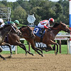 Gerrymander wins a maiden special weight Sunday, August 29, 2021 at Saratoga. Photo: Coglianese Photos