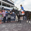 Outfoxed wins the 2021 FTBOA Florida Sire Susan's Girl Stakes at Gulfstream Park<br /> Coglianese Photos
