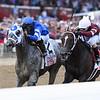 Essential Quality wins the 2021 Travers Stakes at Saratoga<br /> Coglianese Photos/Joe Labozzetta