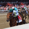 Senbei wins the 2021 Funny Cide Stakes at Saratoga<br /> Coglianese Photos/Chelsea Durand
