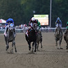 Essential Quality wins the 2021 Travers Stakes at Saratoga<br /> Coglianese Photos/Amira Chichakly