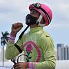 Jose Morelos - 1st Gulfstream Park Win - Wild Cat West - 040421. Photo: Coglianese Photos