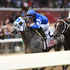 Essential Quality wins the 2021 Travers Stakes at Saratoga<br /> Coglianese Photos/Elsa Lorieul