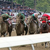 Letruska with Irad Ortiz Jr. win the 74th Running of the Personal Ensign (GI) in a blanket finish at Saratoga on August 28, 2021. Photo By: Chad B. Harmon