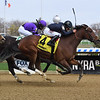 Paris Lights wins the 2021 Distaff Handicap at Aqueduct.<br /> Coglianese Photos/Susie Raisher