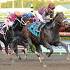 Dialed In wins at Gulfstream.<br /> Coglianese Photos