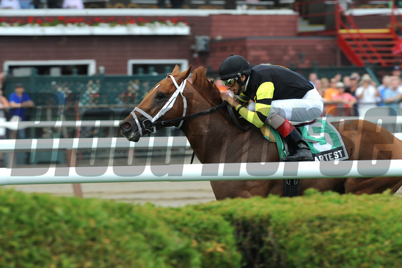 Artest wins the 2012 Quick Call.<br /> Coglianese Photos