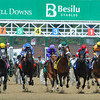 Start of the 2012 Alysheba Stakes at Churchill Downs<br /> © 2012 Rick Samuels/The Blood-Horse