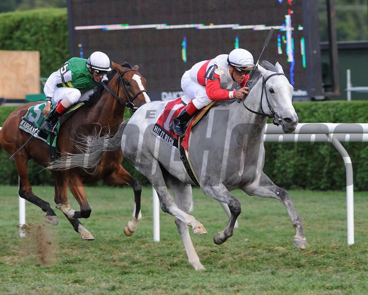 Hit It Rich wins the Glens Falls.<br /> Photo by Coglianese Photos