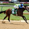 Juanita wins the 2012 La Troienne.<br /> Photo by Dave Harmon