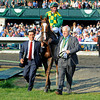 Caption:  Walkin with Donegal Racing owner Jerry Crawford on right.<br />  Dullahan with Kent Desormeaux up wins the Toyota Blue Grass (gr. I)  on April 14, 2012, at Keeneland in Lexington, Ky.<br /> Photo by Anne M. Eberhardt