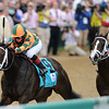 Churchill Downs, Louisville, KY photo by Mathea Kelley,  5/5/12 Believe you Can, Rosie Napravnik up wins the KY Oaks<br /> Photo by Mathea Kelley