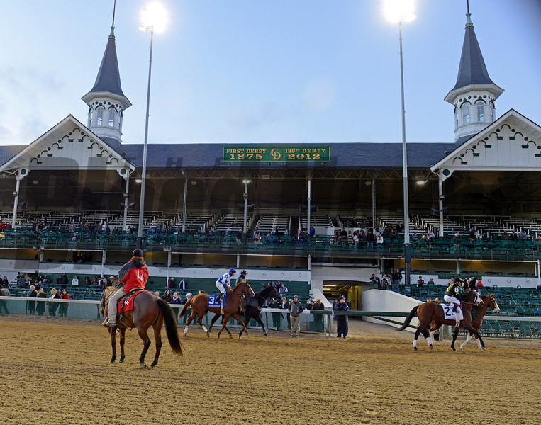Caption: warming up<br /> Shackleford wins the Clark Handicap at Churchill Downs on Nov. 23, 2012, in Louisville, Ky.<br /> Clark Origs 2 image779<br /> Photo by Anne M. Eberhardt