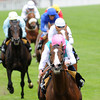 Sea Moon and Ryan Moore win the Hardwicke Stakes at the Royal Ascot on June 23, 2012. Photo by: Mathea Kelley