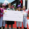Rosie Napravink up wins the Female Jockey Challenge ,Pimlico Race Track, Baltimore, MD 5/18/12, <br /> Photo by Mathea Kelley