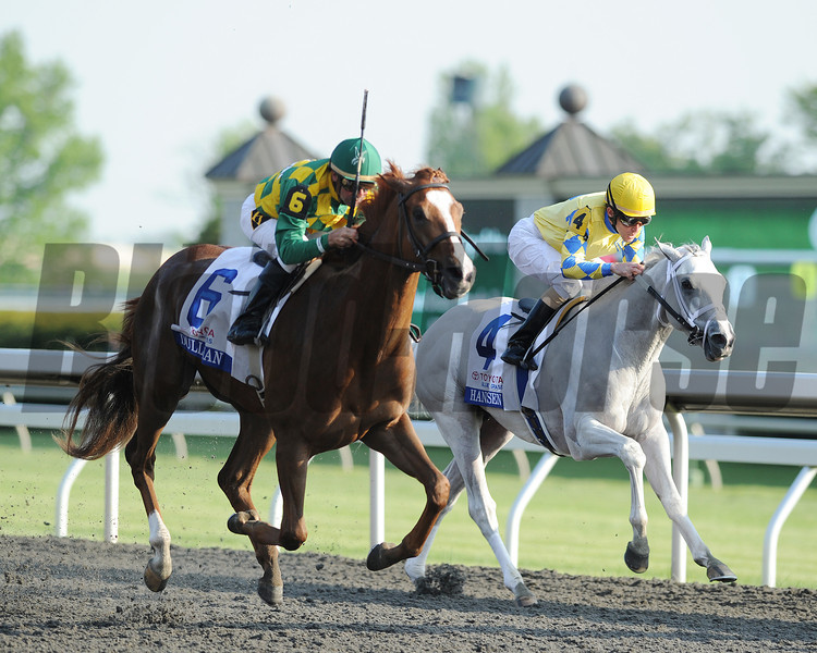 Keeneland Race Course, Lexington, KY 4/13/12 Dullahan, Kent Desormeaux up wins the Bluegrass Stakes.<br /> Photo by Mathea Kelley