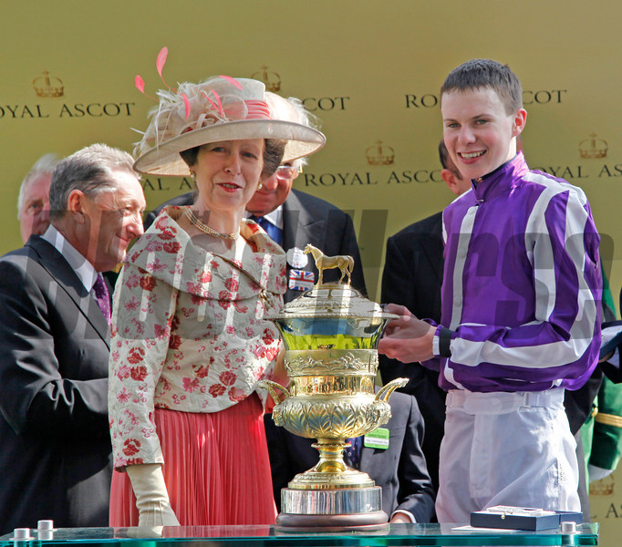 Joseph O'Brien at Royal Ascot<br /> Photo by Trevor Jones