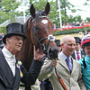 Frankel wins the Queen Anne Stakes at Royal Ascot. Sir Henry Cecil and connections.<br /> Photo by Trevor Jones