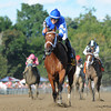 Questing wins the 2012 Alabama.<br /> Photo by Coglianese Photos