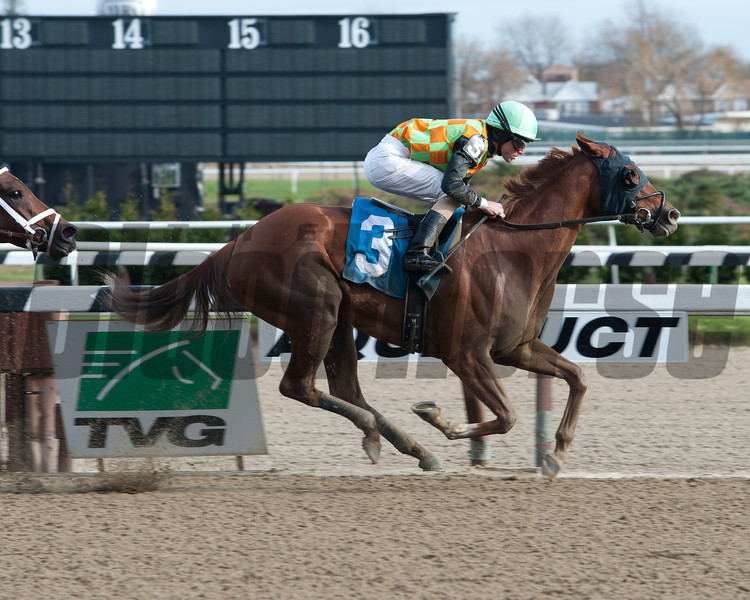 My Wandy's Girl wins the 2012 Pentelis Stakes.<br /> Coglianese Photos