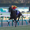 Logotype wins the Asahi Hai Futurity Stakes<br /> Photo by Kate Hunter
