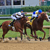 The 78th Running of The Churchill Downs 05/05/2012 Shackleford ridden by Jesus L. Castanon defeats Amazombie ridden by Mike Smith<br /> Photo by Kevin Thompson