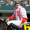 Caption: jockey Julien Leparoux<br /> Spring in the Air with Patrick Husbands wins the Darley Alcibiades (gr. I) at Keeneland on Oct. 5, 2012.<br /> Keeneland<br /> Alcibiades1 image362<br /> Photo by Anne M. Eberhardt