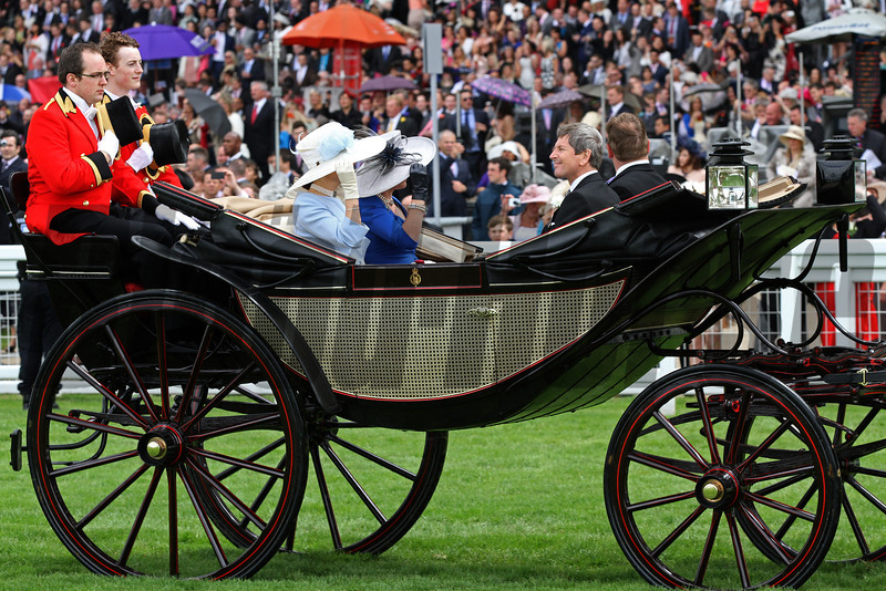 John Warren at Royal Ascot<br /> Photo by Trevor Jones