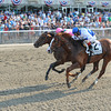 Shackleford and Caleb's Posse in the Metropolitan Mile.<br /> <br /> Photo by Coglianese Photos