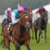 Frankel wins the Queen Anne Stakes at Royal Ascot.<br /> Photo by Trevor Jones