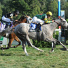 Unbridled Command wins the Saranac Stakes.<br /> Photo by Coglianese Photos