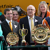 Ascot 21/7/12. King George Queen Elizabeth Stakes<br /> The Queen with Danedream connections<br /> Photo by Trevor Jones