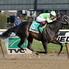 Wildcat's Smile wins the 2012 Sarcastic Stakes.<br /> Coglianese Photos