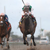 Dust and Diamonds wins the 2012 Sugar Swirl.<br /> Coglianese Photos