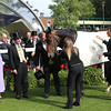 Royal Ascot 2012, 6/22/12, photo by Trevor Jones Ascot Race Course;  Estimate, Ryan Moore up, wins the Queens Vase Stakes, Queen