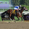 Turbulent Descent wins the 2012 Ballerina. <br /> Coglianese Photos/Susie Raisher