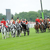 The Royal Procession and the Queen enter Ascot the grandstand area; Royal Ascot 2012; photo by Mathea Kelley Ascot Race Course;