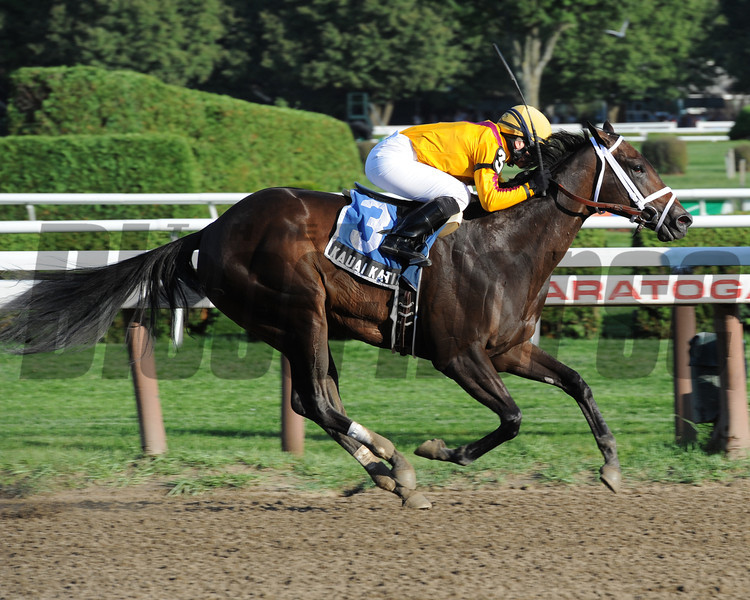 Kauai Katie in the Adirondack Stakes.<br /> Photo by Coglianese Photos