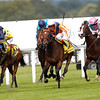 Ascot 21/7/12. King George Queen Elizabeth Stakes<br /> Danedream (centre) wins from Nathaniel (left)  with Reliable  (right)<br /> Photo by Trevor Jones