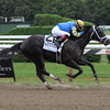 Shanghai Bobby wins the Hopeful Stakes at Saratoga.<br /> Photo by Coglianese Photos