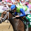 Churchill Downs, Louisville, KY photo by Mathea Kelley, Kentucky Derby 2012 5/5/12 Juanita, Ramon Dominguez up, wins the La Troienne Stakes;