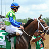 Juanita, Ramon Dominguez up<br /> Gr2 La Troienne winner<br /> © 2012 Rick Samuels/The Blood-Horse