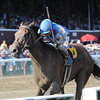 Cease, Allowance win at Saratoga, July 25, 2012.<br /> Coglianese Photos