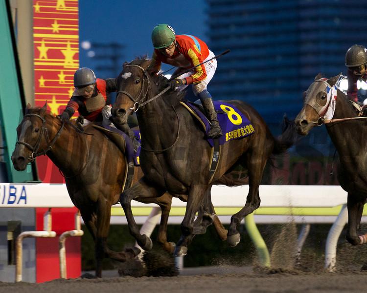 Roman Legend wins the G1 Tokyo Daishoten at Ohi Racecourse